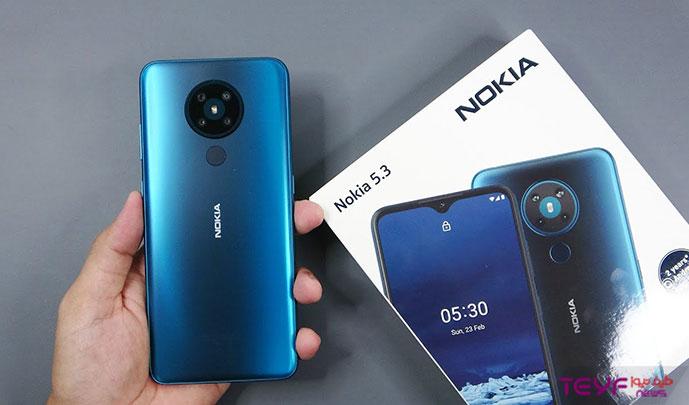 آموزش حذف FRP نوکیا Nokia 5.3 TA-1234 تا اندروید 10