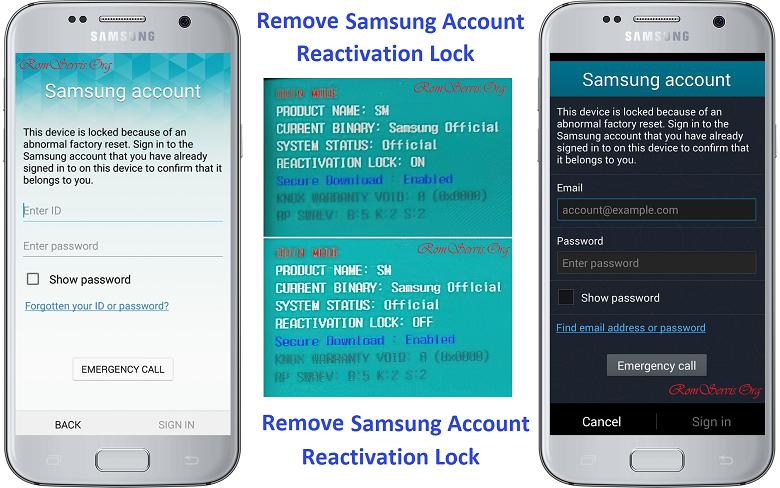 آموزش حذف سامسونگ اکانت Reactivation Lock